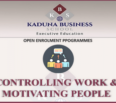 CONTROLLING WORK & MOTIVATING PEOPLE