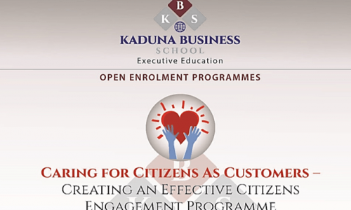 CARING FOR CITIZENS AS CUSTOMERS